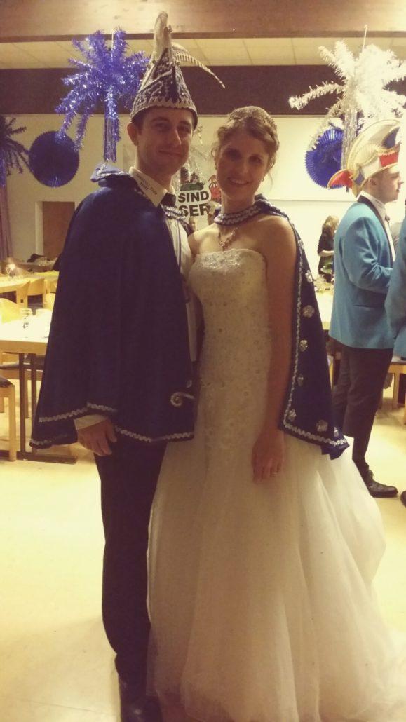 Mein Mann und ich als Prinzenpaar 2016/2017