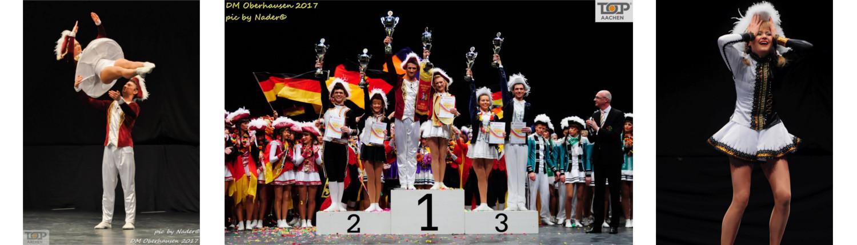 Deutsche Meisterschaften 2017 in Oberhausen