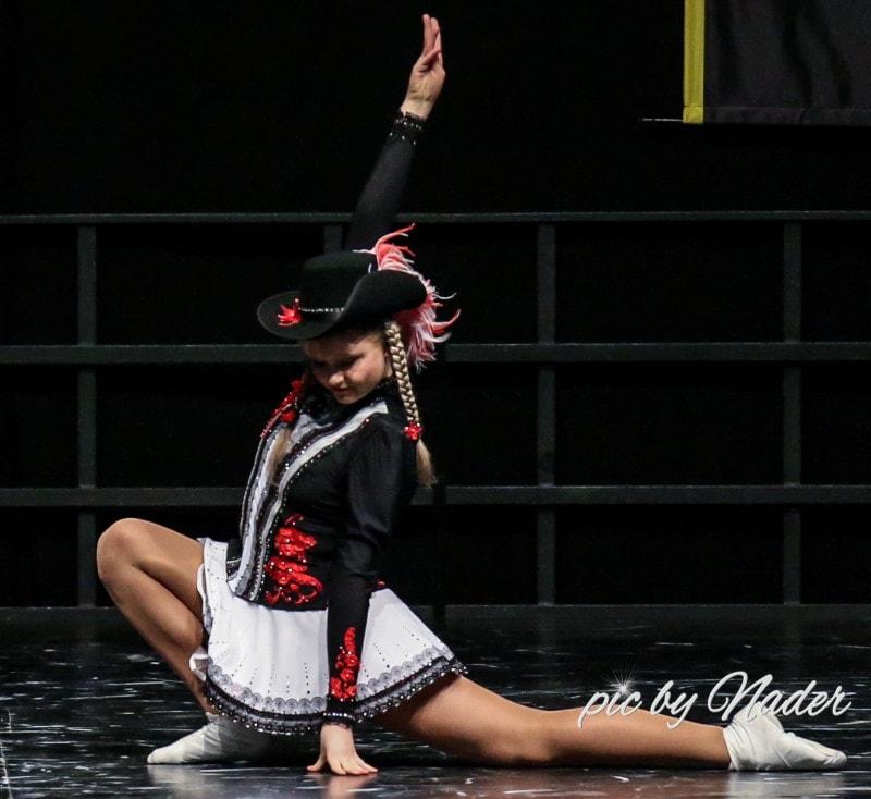 Einen Musketierhut trug zuletzt Tanzmariechen Katharina Theil auf der Deutschen Meisterschaft 2018.