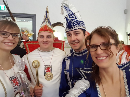 Spaß mit dem Prinzenpaar aus Borken