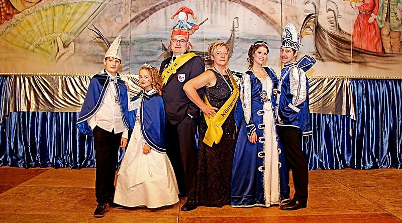 Royals des CCB in der Jubiläumssession
