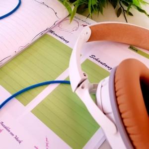 Musik im Planer: Mein Trainingsjahr
