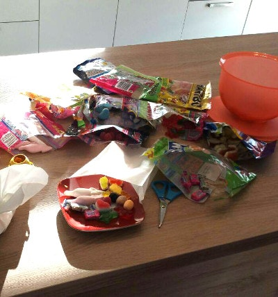 Süßigkeiten von Haribo
