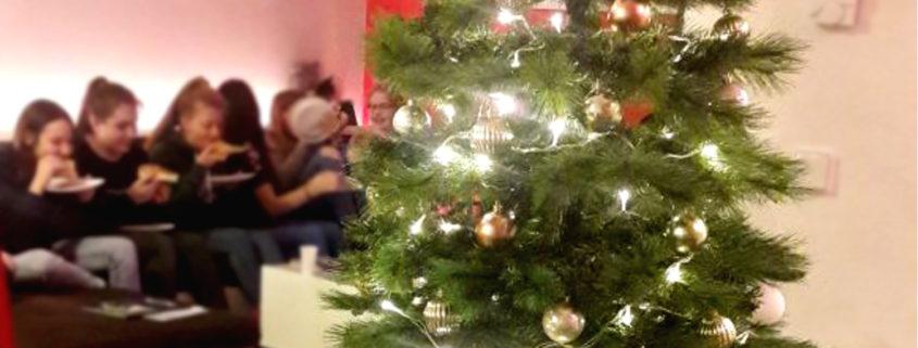 Weihnachtsfeier mit der Garde