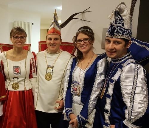 Zu Gast beim Karneval in Borken