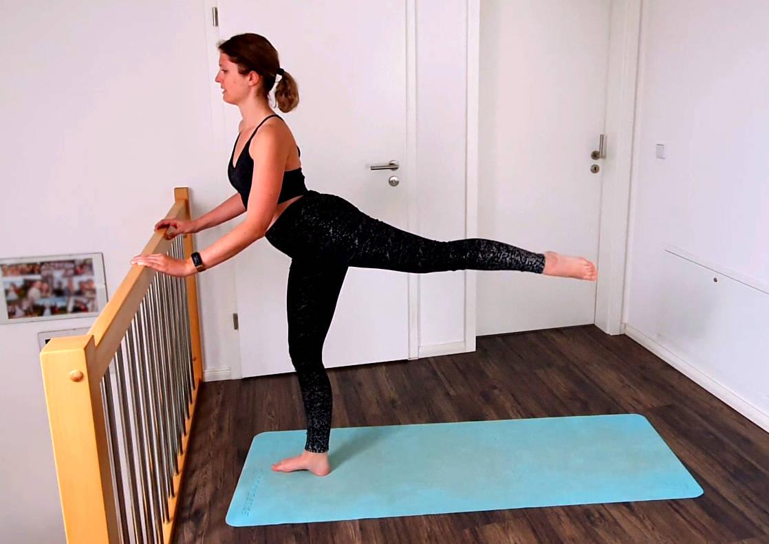 Ballettübungen stärken die Haltung, die Körperspannung und deine Muskeln.