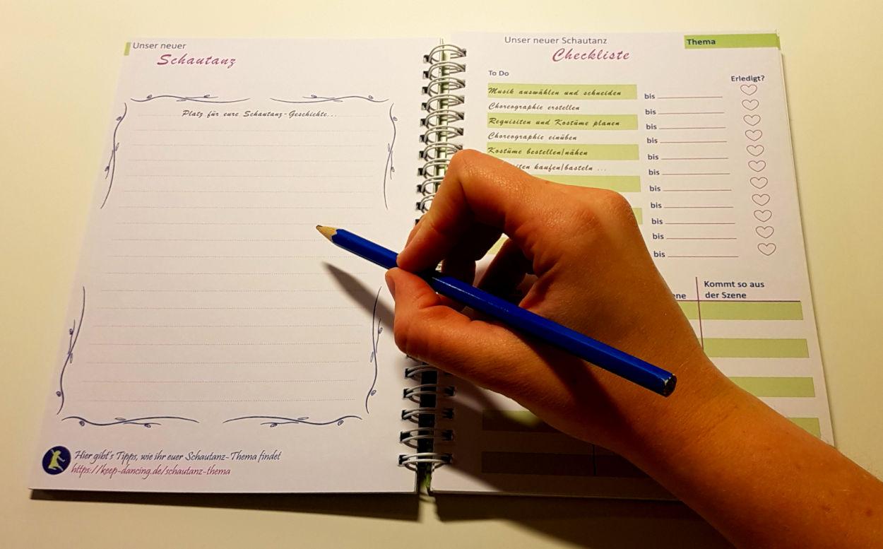 Halte deine Ideen einfach im Trainingsplaner fest