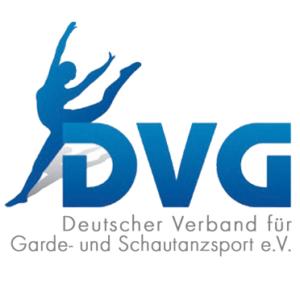 Logo des Deutscher Verband für Garde- und Schautanzsport (DVG)