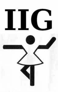 Logo der Internationale Interessengemeinschaft für Tanzsport (IIG)