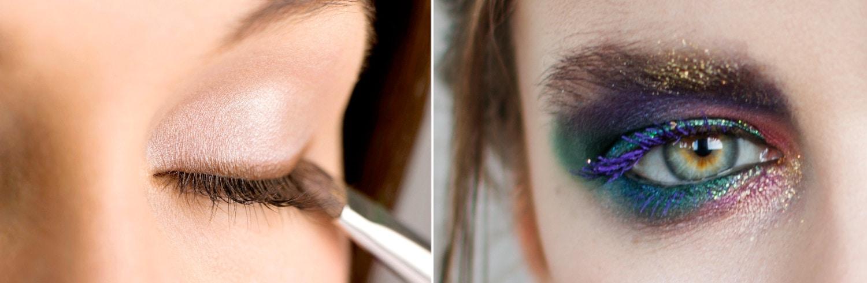 Der Trend für das Marschtanz Make-Up geht weg von starken Farben und hin zu natürlichen Tönen.