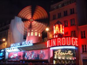 Moulin Rouge in Frankreich