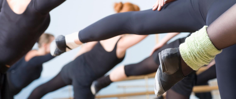 Balletttänzer im Training
