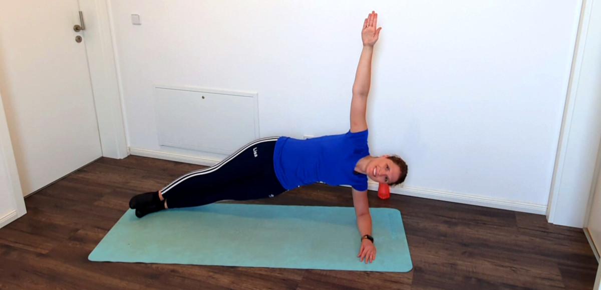 Mit dem Steitstütz trainierst du Bauchkraft und Spannung