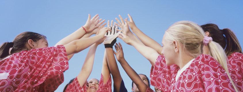Teamsport prägt deinen Charakter.